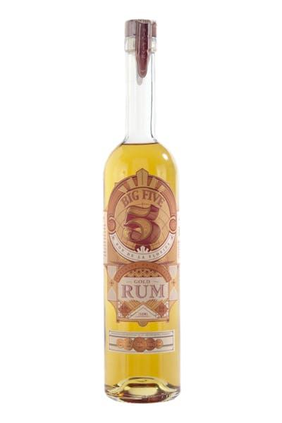 Big 5 Gold Rum