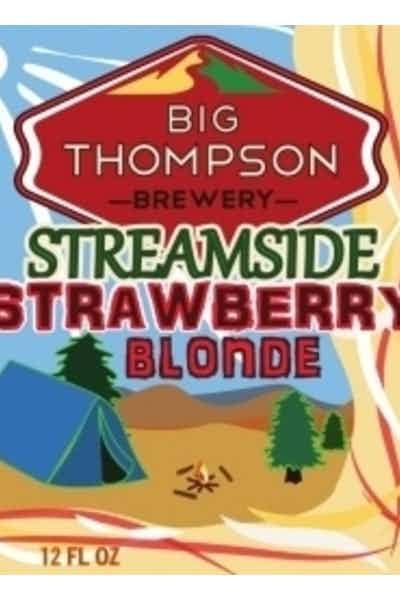 Big Thompson Streamside Strawberry Blonde Ale
