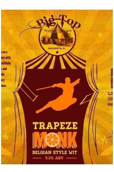 Big Top Trapeze Monk Belgian Style Wit