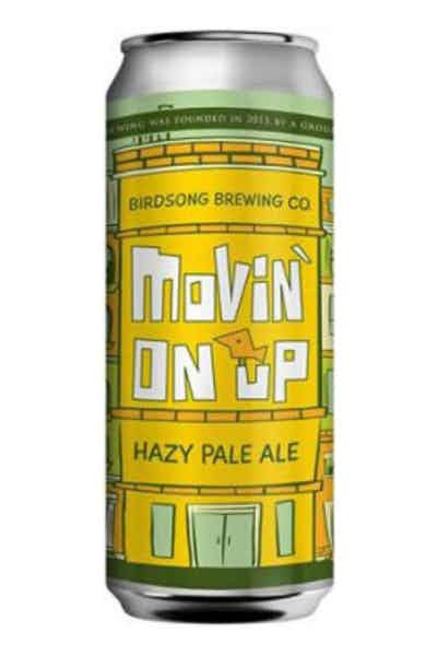 Birdsong Brewing Movin' On Up Hazy Pale Ale