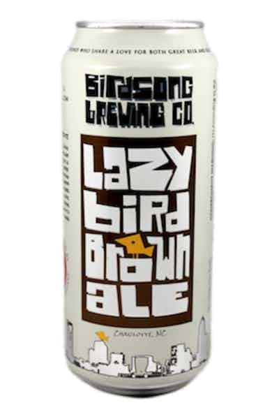 Birdsong Brewing Lazy Bird Brown Ale