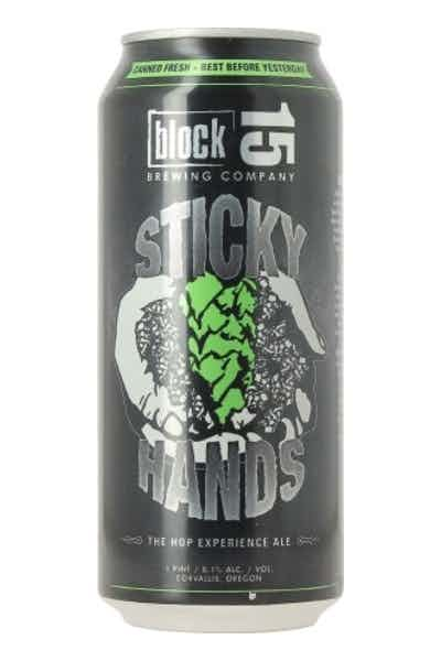 Block 15 Sticky Hands IPA