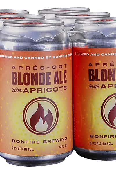 Bonfire Brewing Apres-Cot Blond Ale