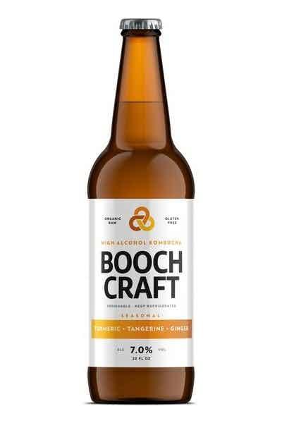 Boochcraft Tumeric Tangerine Organic Hard Kombucha