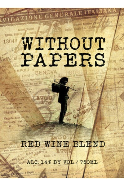 Boston Winery Without Papers Red Blend