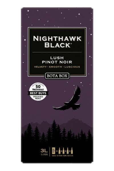 Bota Box Nighthawk Lush Pinot Noir