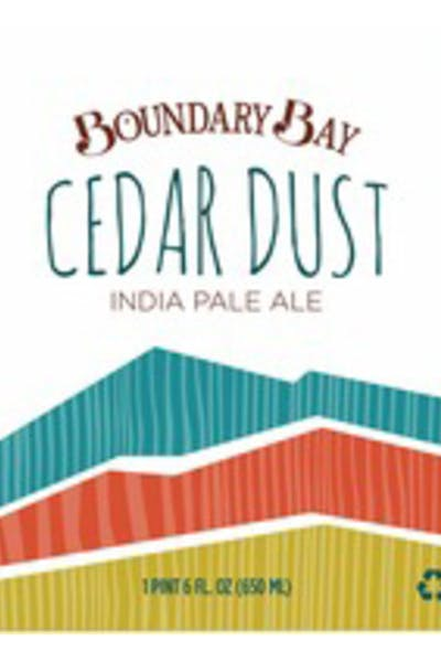 Boundary Bay Cedar Dust IPA