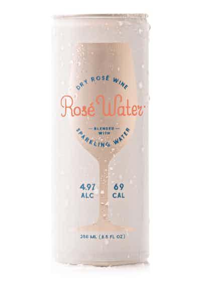Boutique Rosé Wine Water