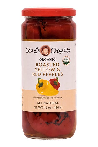 Brad's Organic Roasted Red/Yellow Peppers