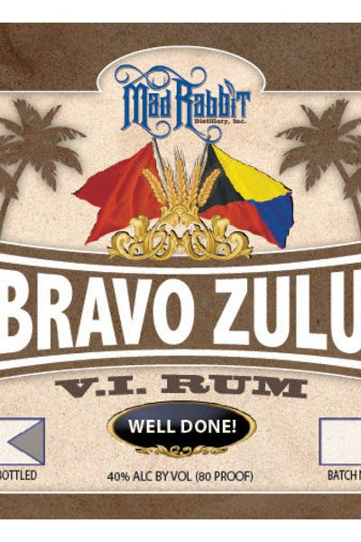 Mad Rabbit Bravo Zulu Rum