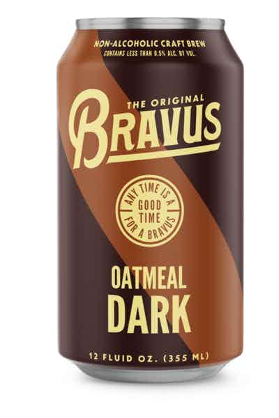Bravus Brewing Oatmeal Stout Non-Alcoholic