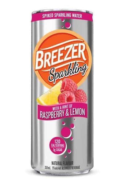 Breezer Raspberry Lemon Spiked Sparkling Water