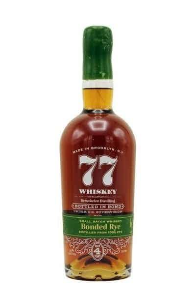 Breuckelen 77 Bonded Rye Whiskey