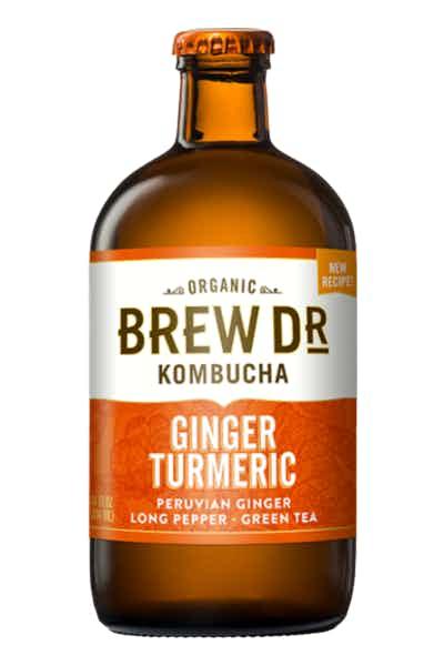 Brew Dr. Ginger Turmeric Kombucha