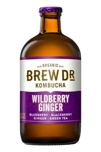 Brew Dr. Wildberry Ginger Kombucha