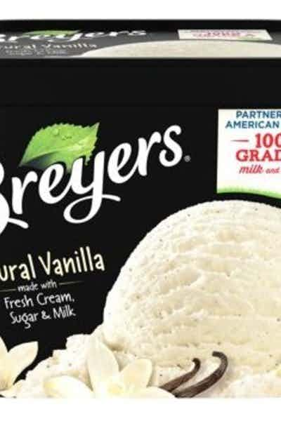 Breyers Natural Vanilla