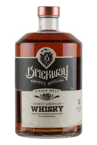 Brickway Honest Single Malt American Whisky