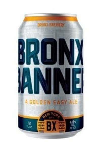 Bronx Brewery Banner Golden Ale