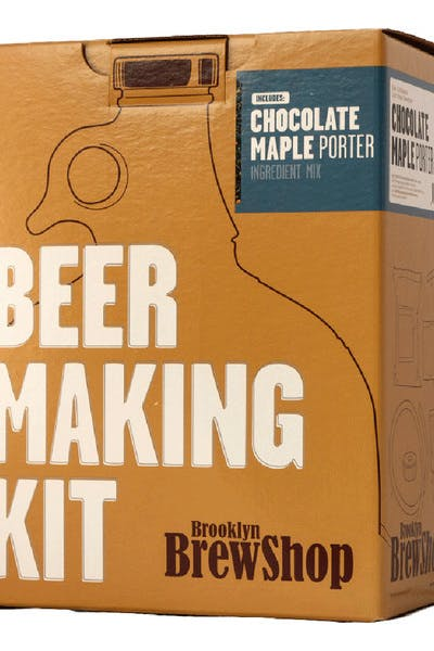 Brooklyn Brew Kit   Chocolate Maple Porter