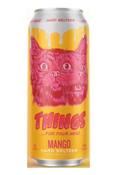 Brouwerij Thing For Your Head Mango Hard Seltzer