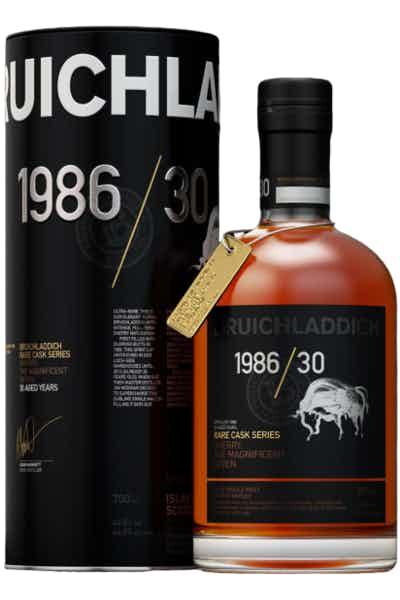 Bruichladdich 1986 Rare Cask 30 Year