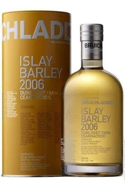 Bruichladdich Scotch Single Malt Islay Barley 2006