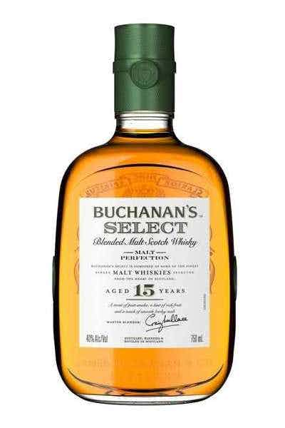 Buchanan's Select 15 Years Old Blended Malt Scotch Whisky