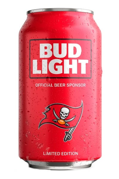 Bud Light Tampa Bay Buccaneers NFL Team Can