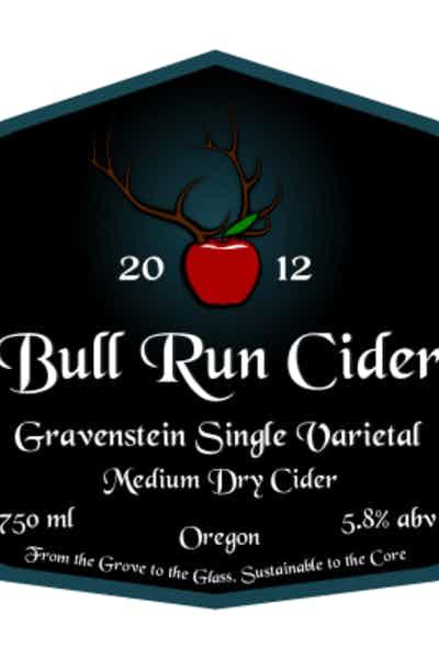 Bull Run Gravenstein Single Varietal Cider