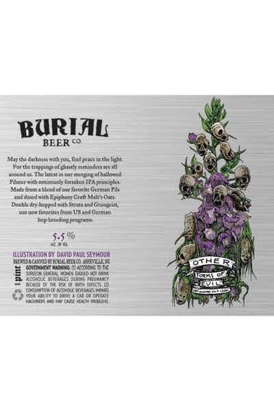 Burial Other Forms of Evil Pilsner