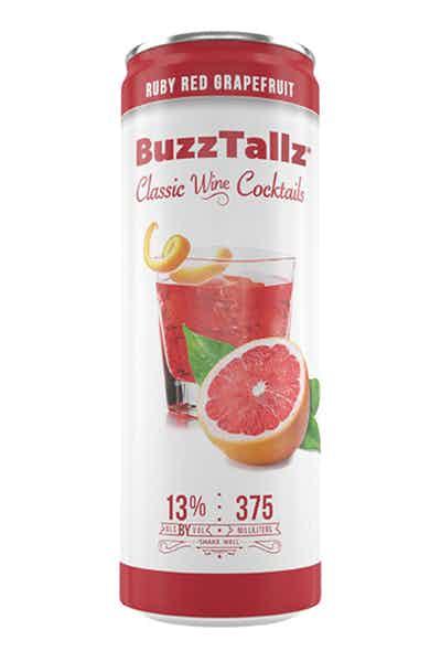 BuzzTallz Ruby Red Grapefruit Wine Cocktail