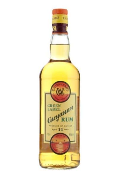 Cadenhead Green Label Guyanan Rum 11 Year