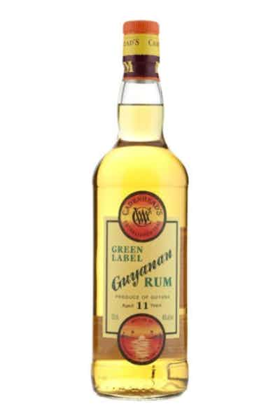 Cadenhead Green Label Guyanan Rum 11 Year