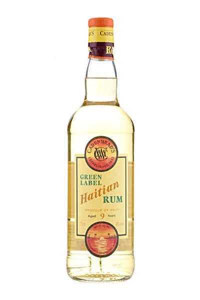 Cadenhead Green Label Haitian Rum 9 Year
