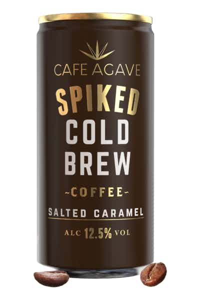 Cafe Agave Spiked Cold Brew Coffee Salted Caramel