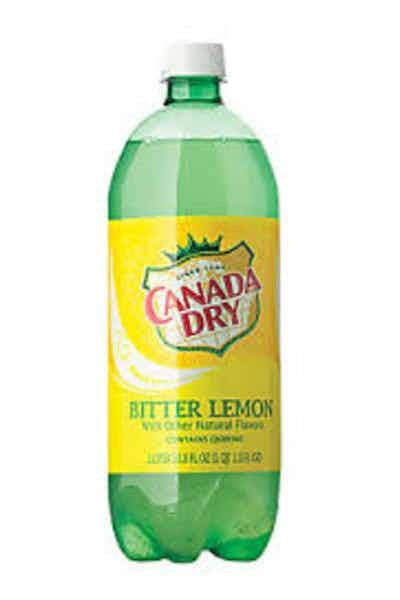 Canada Dry Tonic Water Bitter Lemon