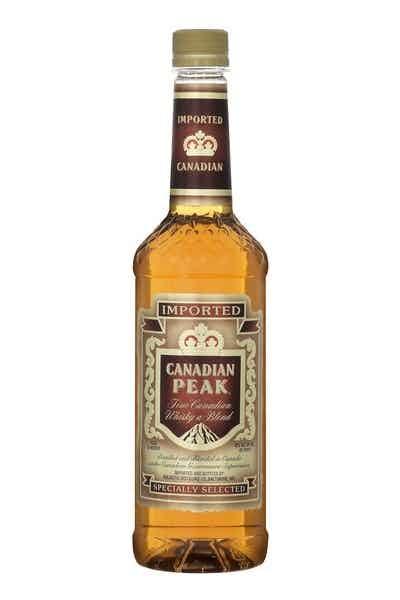 Canadian Peak Whiskey