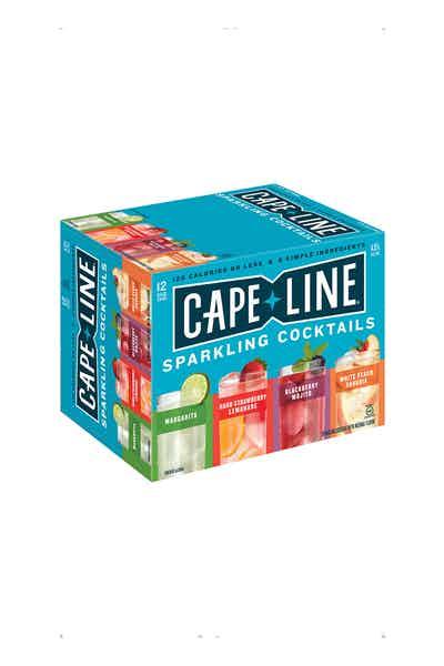Cape Line Sparkling Cocktails Variety Pack Gluten Free