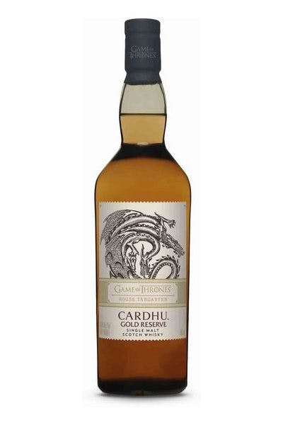 Cardhu Game of Thrones House Targaryen Gold Reserve Single Malt Scotch Whisky