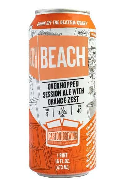 Carton Brewing Beach Session Ale With Orange Zest