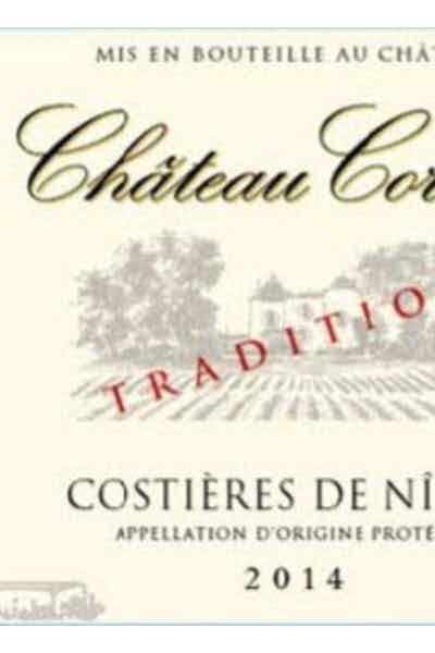Chateau Cornut Costieres de Nimes Rouge Tradition
