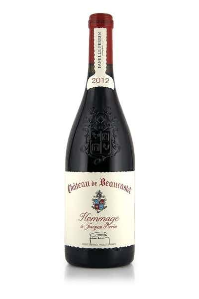 Chateau de Beaucastel Hommage by Jacques Perrin 2012