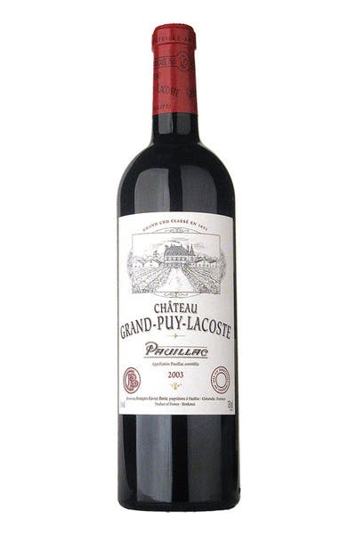 Chateau Grand Puy Lacoste Pauillac