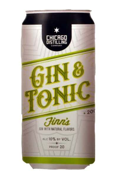 Chicago Distilling Gin & Tonic Cocktail