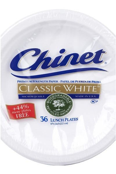 Chinet Medium Paper Plates