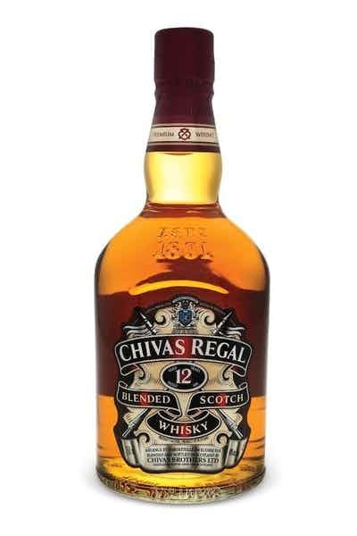 Chivas Regal Scotch 12 Year W/6 Coasters