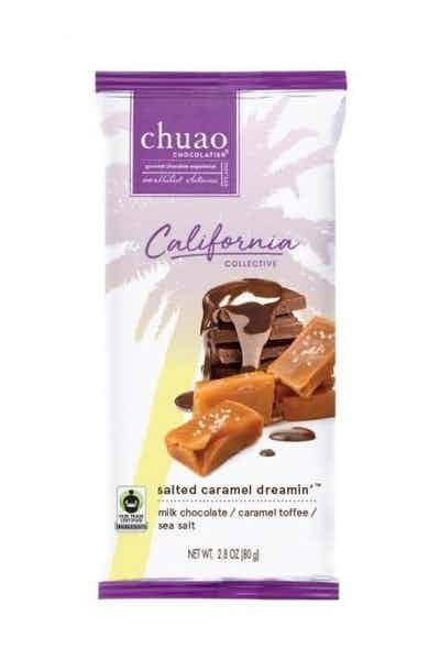 Chuao California Collection Salted Caramel Bar