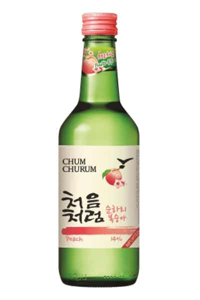 Chum Churum Peach Soju