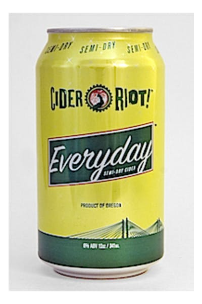 Cider Riot Everyday Semi-Dry Cider