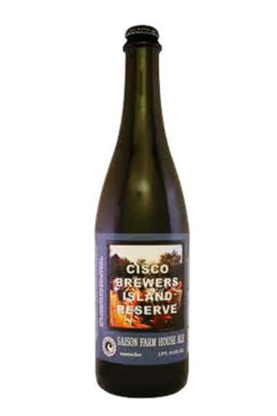 Cisco Brewers Island Reserve Farmhouse Ale